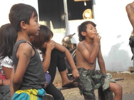 Ilustrasi Kondisi Anak Jalanan Garut, Jawa Barat.
