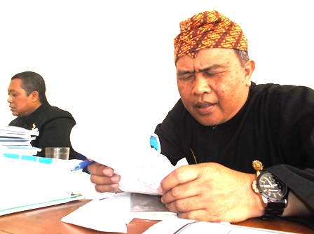 Jajaran Bidang Sapras Disdik Kabupaten Garut.