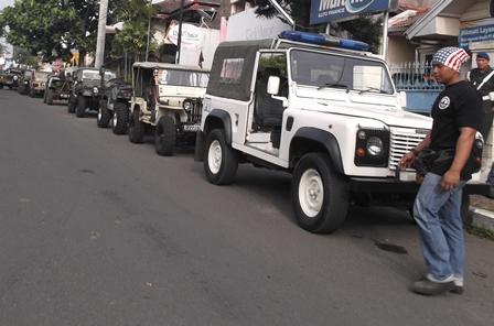 Bersiap Jelajahi Lintasan Kabupaten Garut.