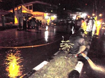 Penyedotan Jalan Banjir.
