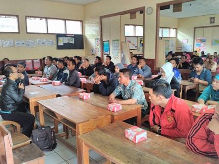 Rekrutment Petugas di Kecamatan Pameungpeuk.