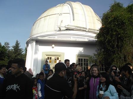 Kerap Dikunjungi Kalangan Wisatawan Beserta Ilmuwan dari Mancanegara.