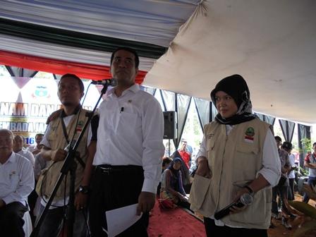 Menteri Pertanian Juga Menyempatkan Berdialog Dengan Kalangan PPL Setempat.