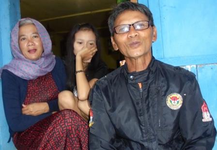 Penduduk Kampung Selaawi Sindangsari Cisompet Semakin Dihantui Semakin Meluasnya Lintasan Rekahan Pergerakan Tanah.