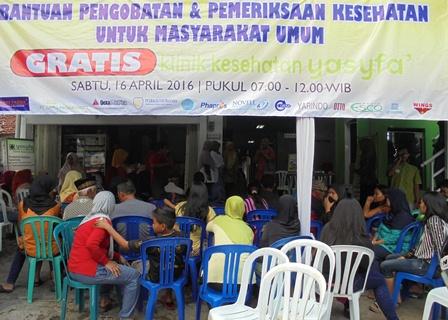 Bhakti Sosial Klinik Utama Yasifa'