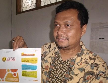 Kepala Seksi Statistik Distribusi pada BPS Kabupaten Garut, Mahdar Saleh, S.Si