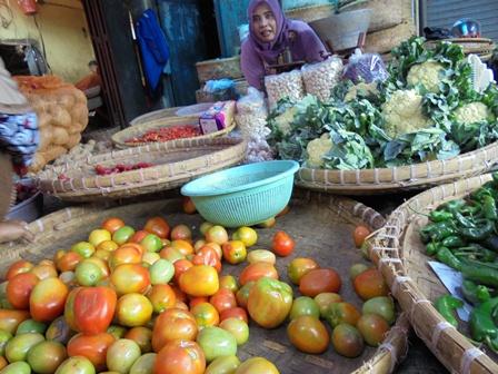 Peningkatan harga Tomat dan Burkol, Bersaing Ketat.