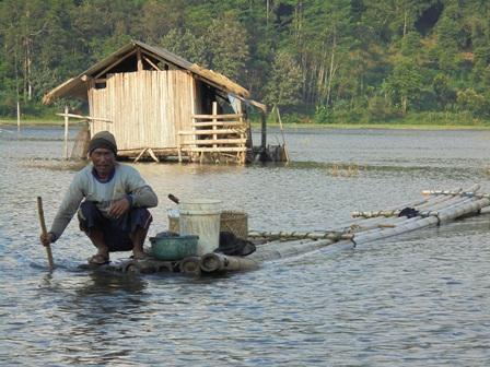 Membawa Mendarat Hasil Tangkapan Ikan.