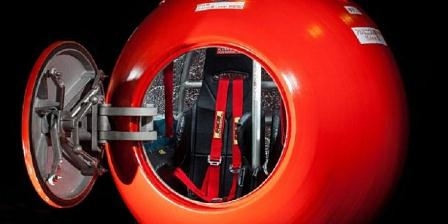 The Survival Capsule. (Caters News Agency).