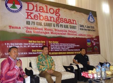 Dialog Kebangsaan Digelar KB PII dan PD PII Kabupaten Garut.