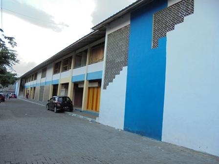 Kondisi Gedung PKL 2 Juga Sunyi-Sepi.