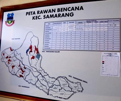 """Inilah Salah Satu Wujud, Kesiap-siagaan """"Mitigasi"""" Jajaran Pemerintahan Kecamatan Samarang, Garut, Jawa Barat."""