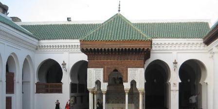 Bangunan Masjid sekaligus Universitas Al-Qarawiyyin. (Wikipedia).