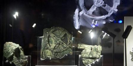 Fragmen Antikythera di Museum Arkeologi, Athena. (AP).