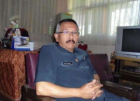 Kepala SMPN 1 Garut Kota, H. Ahmad Gunawan, BA, S.IP, MH