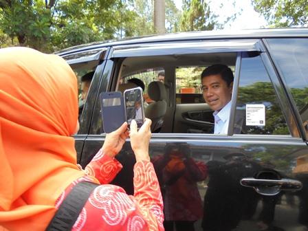 Menpan RB Bersafari Puasa Ramadlan Gunakan Mobil Sederhana.