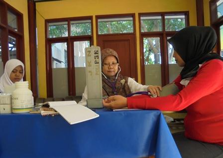 Pos Siaga Kesehatan Terminal Guntur, garut, Jawa Barat.