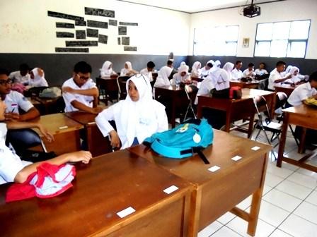Suasana Ruang Kelas SMAN Dinilai Unggulan.