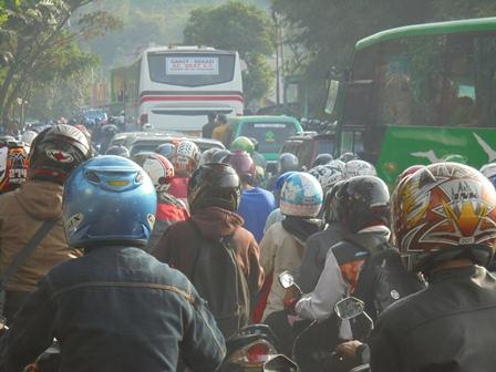 Kemacetan yang Mengerikan.