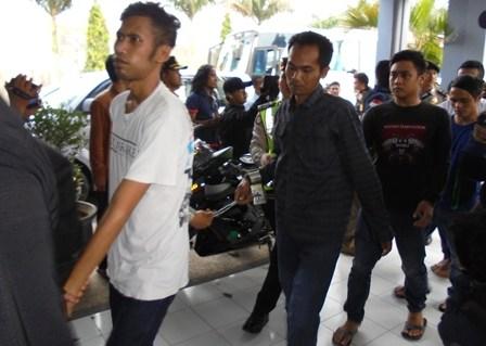Ilustrasi. 55 Warga Binaan Pemasyarakatan Narkoba Banceuy Bandung Dipindahkan ke Lapas Garut, Rabu (27/04-2016).