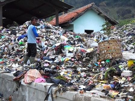 Ilustrasi. TPA Sampah Pasir Bajing, Garut.
