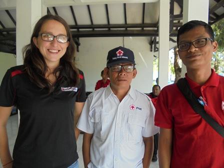 Agus Heryanto, Agus Lestyawan Bersama Delegasi Asal New Zaeland.