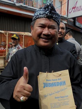 Bupati H. Rudy Gunawan : Cintailah Produk Kearifan Lokal Garut Bernilai Adi Luhung.
