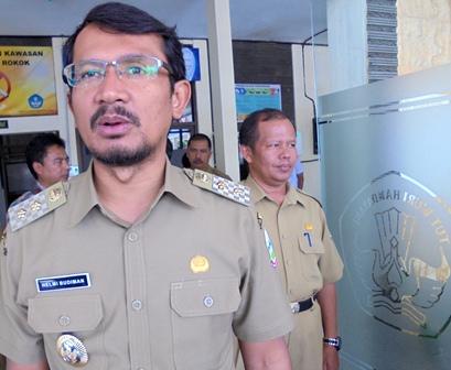 Wakil Bupati Garut, Helmi Budiman.