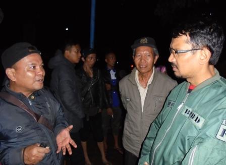 Wakil Bupati H. Helmi Budiman Menerima Laporan Kerusakan RSU dr Slamet dan UDD PMI.