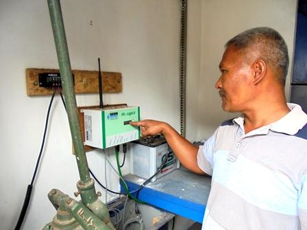 Piranti Elektronik Pengukur Ketiunggian Muka Air.