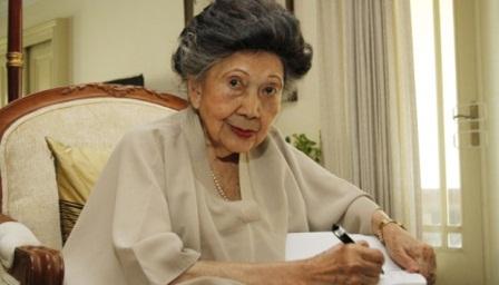 Wartawati senior, Herawati Diah. dok.TEMPO.