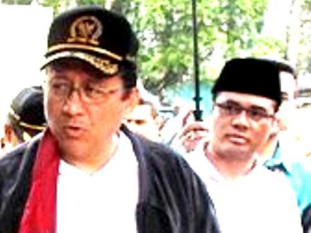 Irman Gusman Bersama Aceng HM Fikri.