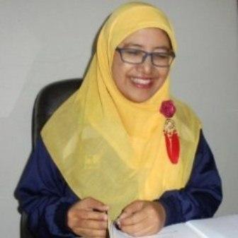 Sekretaris Distarkim, Ir. Luna Aviantrini, MT Beserta Jajaran Dukung Managemen Penanggulangan Pasca Bencana.