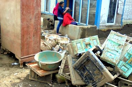 Korban Terdampak Bencana yang Masih Berada di Kampung Cimacan.