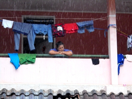 Korban Selamat Terdampak Amuk Sungai Cimanuk di Pengungsian Wisma LEC.