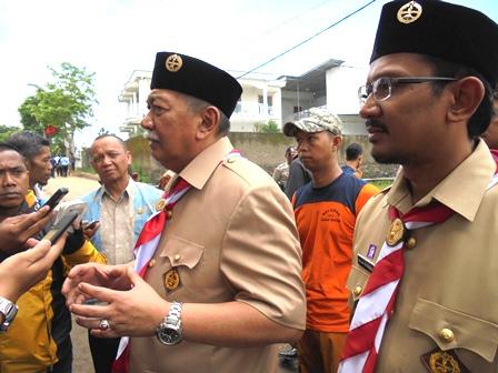 Wakil Gubernur Jabar, Bersama Wakil Bupati Garut.