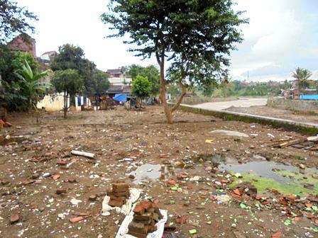 Pemukiman Penduduk Kampung Sanding Lebak, Menjadi Rata Dengan Tanah.