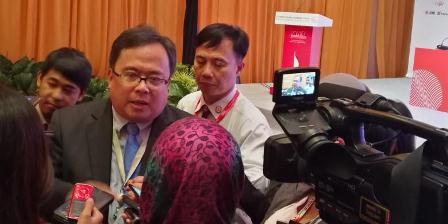 Menteri PPN Bambang Brodjonegoro di acara World Islamic Economic Forum (WIEF) 2016 di Jakarta. (Yoga Sukmana).