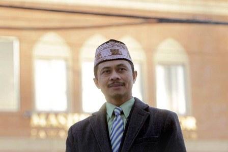 Imam Shamsi Ali. (AP/Seth Wenig ).