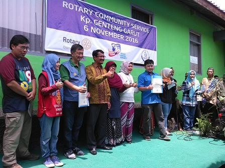 Pemkab Garut Apresiasi Positip dan Menyampaikan Penghargaan Terhadap Ragam Produk Kolaborasi Rotary Club Bersasma Yahintara, dan Peran Serta Klinik Utama Yasifa'.