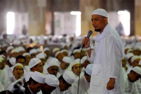 Ustaz Muhammad Arifin Ilham. (Republika/Agung Supriyanto).