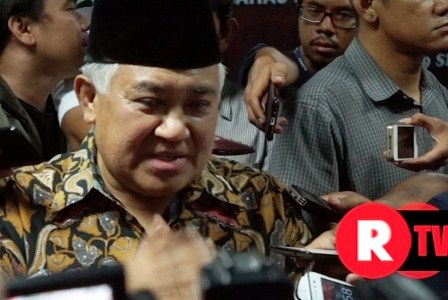 Ketua Dewan Pertimbangan MUI, Din Syamsuddin. (ROL/Wisnu Aji Prasetiyo).