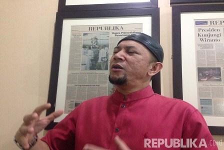 Ustaz Erick Yusuf. (Republika/ Maman Sudiaman).