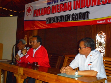 Ketua PMI Kabupaten Garut, Budiman.