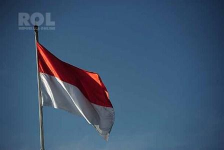 Bendera Merah Putih. (Republika/Yogi Ardhi).