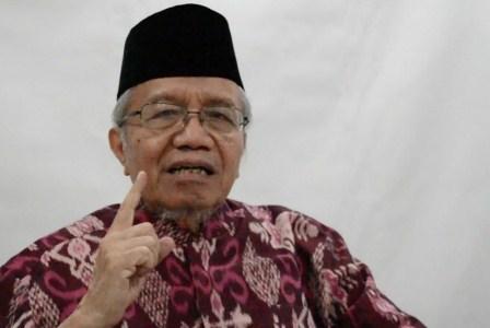 Taufik Ismail. (ROL/Sadly Rachman).