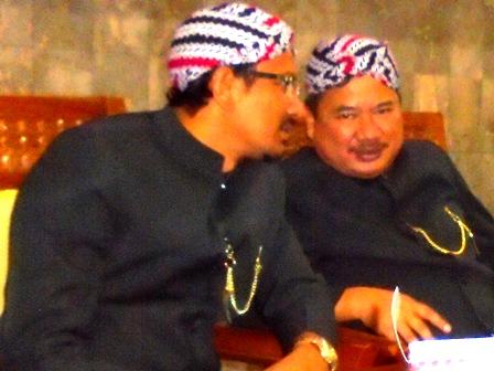 Duet Rudy - Helmi Pada Puncak Acara Peringatan Hari Jadi ke-2014 Kabupaten Garut.