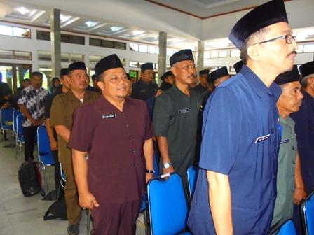 Ilustrasi. Pelantikan Massal Pejabat di Kabupaten Garut, Jabar.