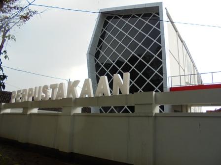 Gedung Baru Perpustakaan di Kabupaten Garut.