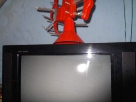 Ilustrasi. Yang Netral Pesawat Televisi Rusak.